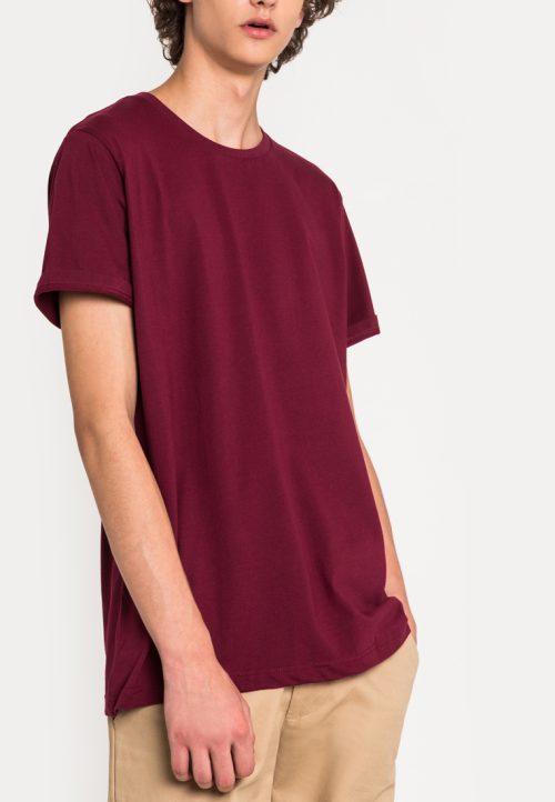 เสื้อยืดผู้ชาย Everyday Oversize (แดง)