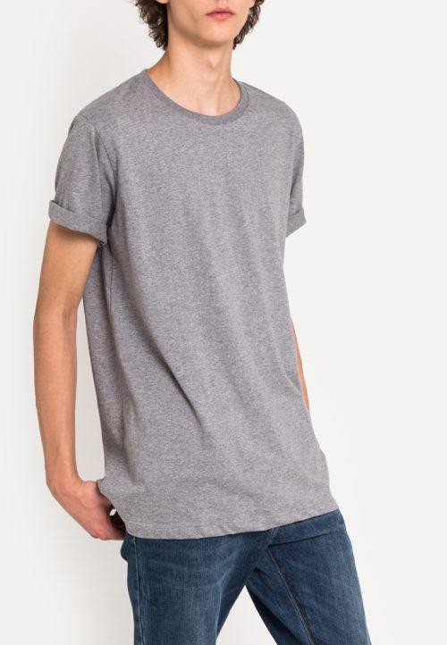 เสื้อยืดผู้ชาย Everyday Oversize (สีเทา)