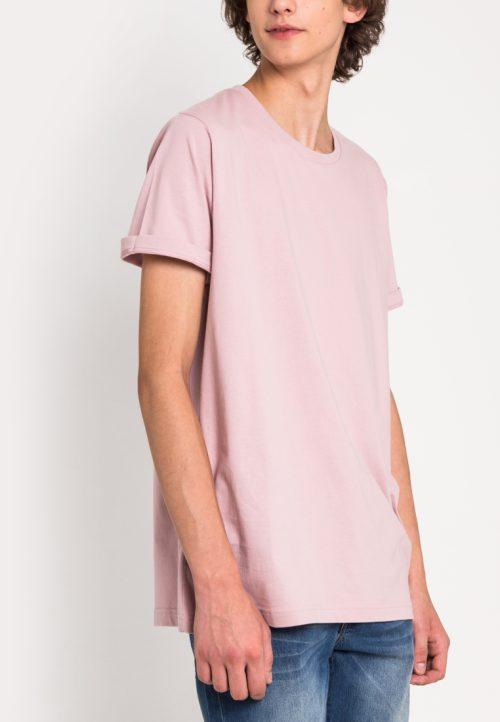 เสื้อยืดผู้ชาย Everyday Oversize (ชมพู)