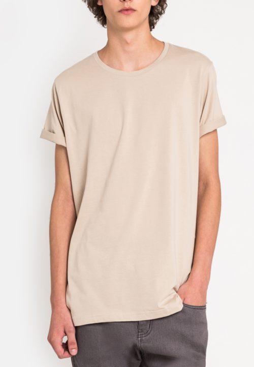 เสื้อยืดผู้ชาย Everyday Oversize (เบจ)