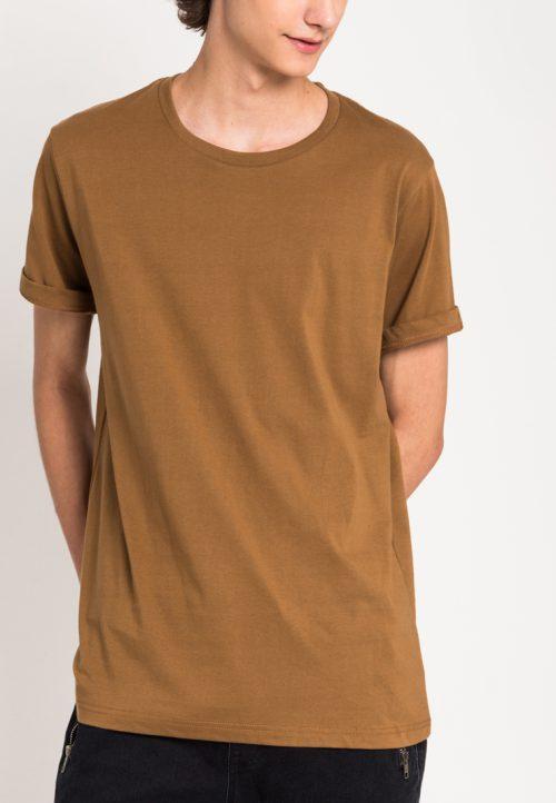 เสื้อยืดผู้ชาย Everyday Oversize (น้ำตาล)