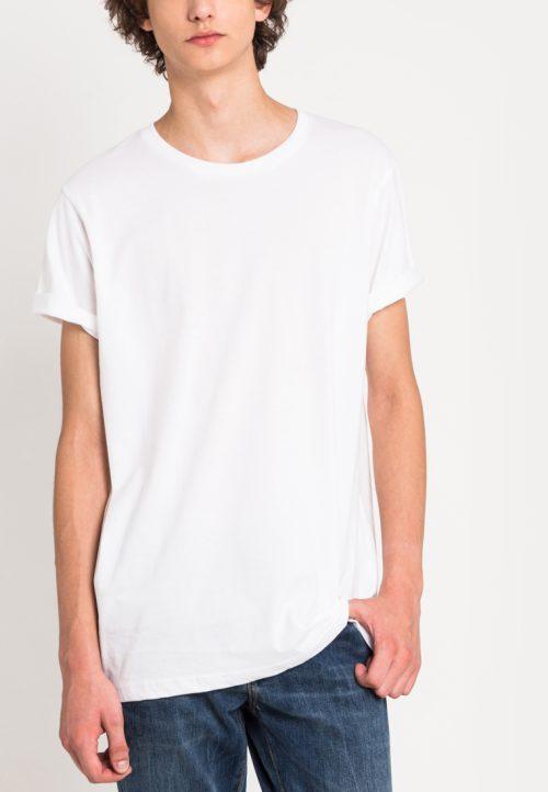 เสื้อยืดผู้ชาย Everyday Oversize (สีขาว)