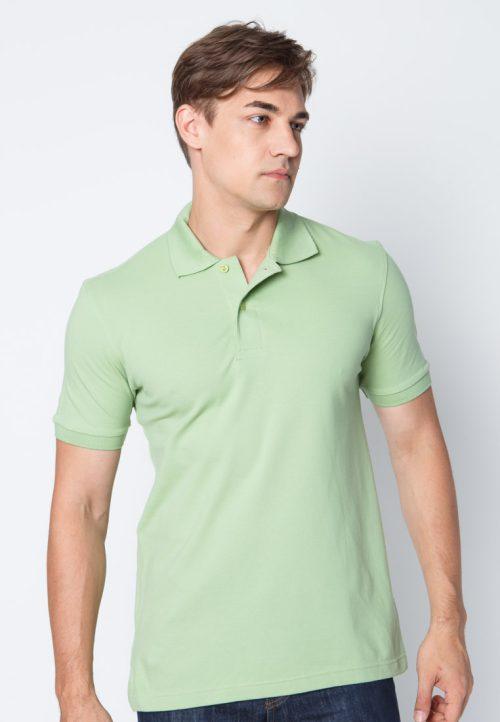 เสื้อ้โปโลผู้ชายสีเขียวเว็บเสื้อผ้าแฟชั่น MAXTEEN