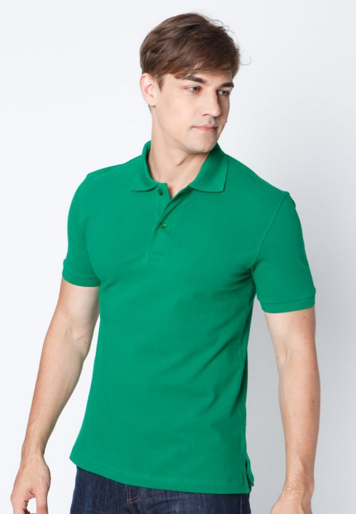 เสื้อ้โปโลผู้ชายสีเขียวเข้มเว็บเสื้อผ้าแฟชั่น MAXTEEN