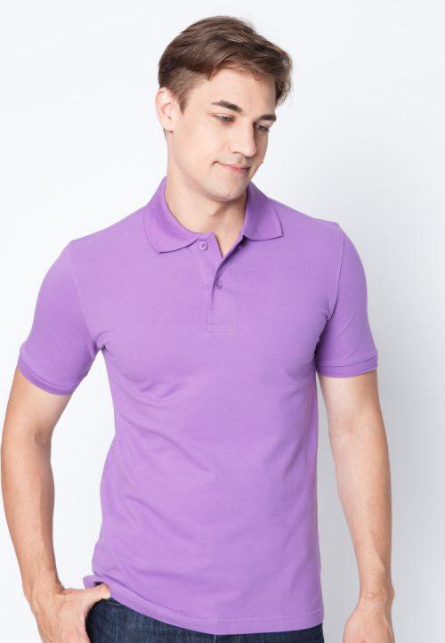 เสื้อ้โปโลผู้ชายสีม่วงเว็บเสื้อผ้าแฟชั่น MAXTEEN
