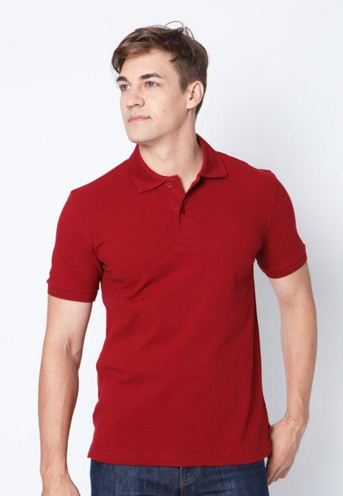 เสื้อ้โปโลผู้ชายสีแดงเว็บเสื้อผ้าแฟชั่น MAXTEEN