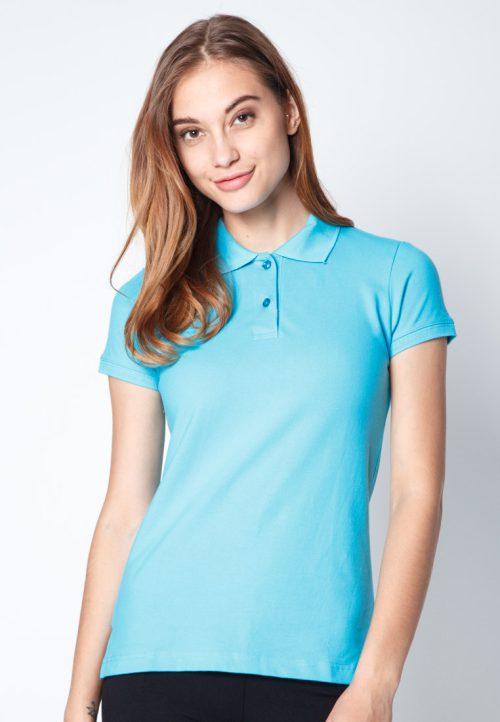 เสื้อ้โปโลผู้หญิงสีฟ้าราชินีเว็บเสื้อผ้าแฟชั่น MAXTEEN