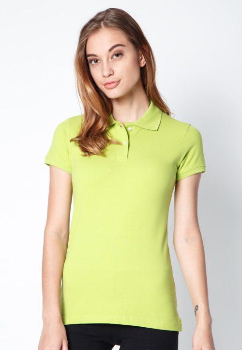 เสื้อ้โปโลผู้หญิงสีเขียวตองเว็บเสื้อผ้าแฟชั่น MAXTEEN