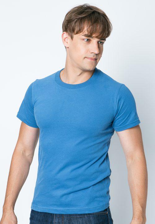 เสื้อยืดผู้ชายสีน้ำเงิน ว็บเสื้อผ้าแฟชั่น MAXTEEN