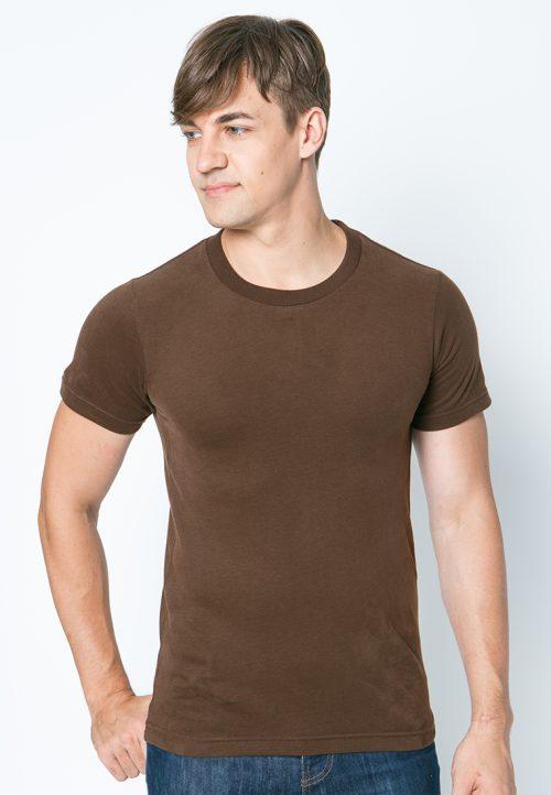 เสื้อยืดผู้ชายสีน้ำตาล ว็บเสื้อผ้าแฟชั่น MAXTEEN