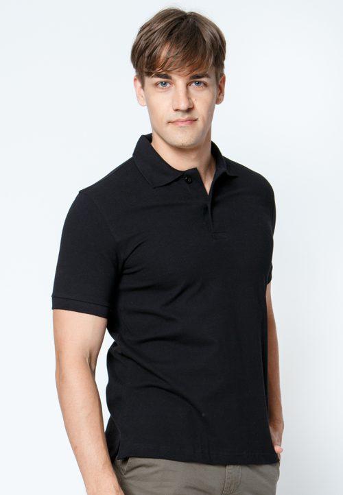 เสื้อ้โปโลผู้ชายสีดำเว็บเสื้อผ้าแฟชั่น MAXTEEN