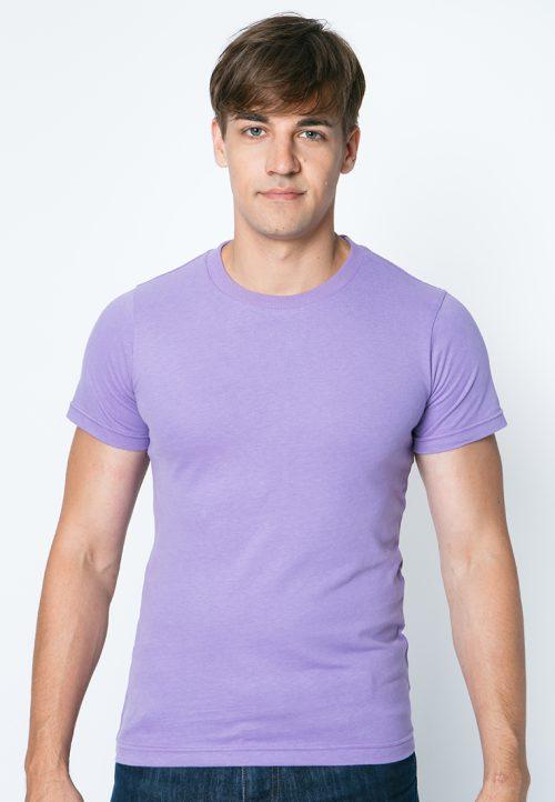 เสื้อยืดผู้ชายสีม่วงอ่อน เว็บเสื้อผ้าแฟชั่น MAXTEEN