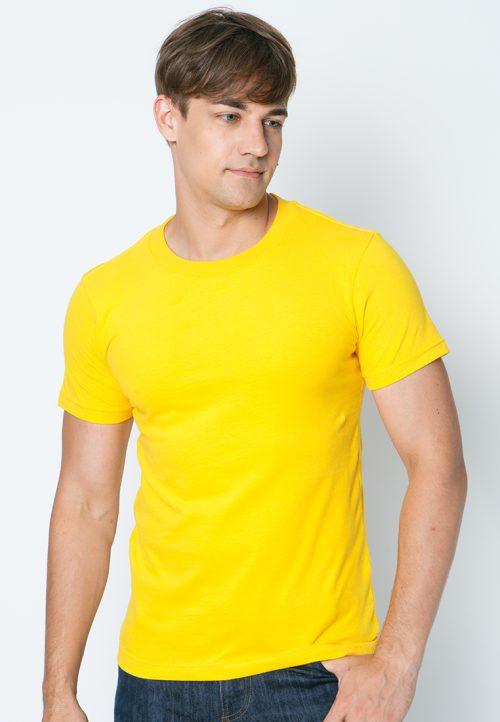 เสื้อยืดผู้ชายสีเหลืองเข้ม เว็บเสื้อผ้าแฟชั่น MAXTEEN