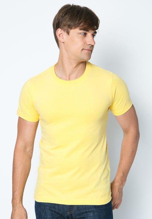 เสื้อยืดผู้ชายสีเหลืองอ่อน เว็บเสื้อผ้าแฟชั่น MAXTEEN