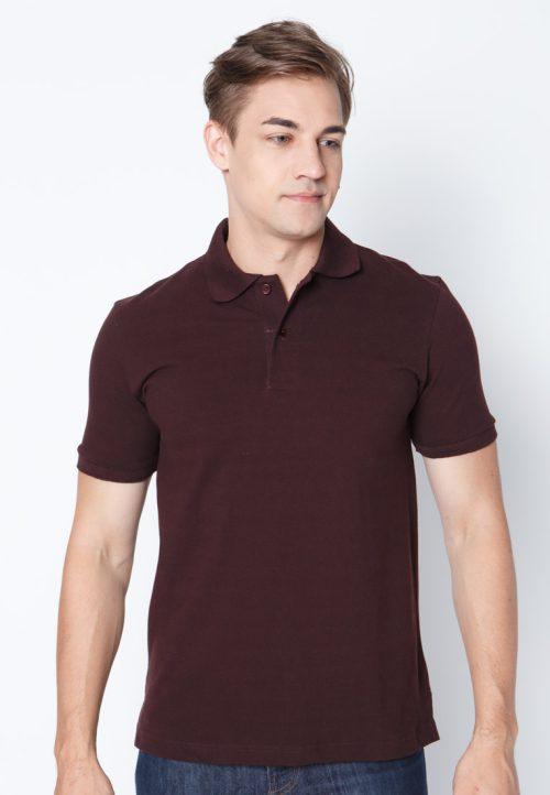 เสื้อ้โปโลผู้ชายสีน้ำตาลเว็บเสื้อผ้าแฟชั่น MAXTEEN