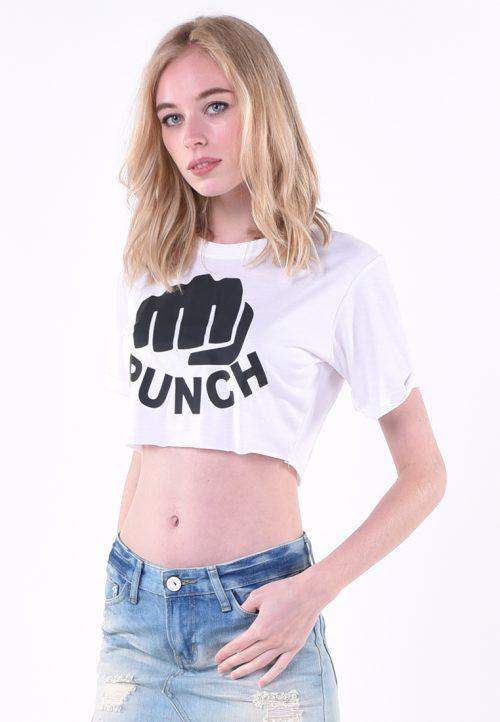 เสื้อยืด T-shirt waistless เอวลอย ปั้มสกรีนสัมผัสไม่หลุดร่อนง่าย ซีรีย์เอวลอยแขนสั้นโชว์ความเซ็กซี่ หนุ่ม ๆ ต้องตาค้างมองเหลียวหลังไปกับสาวมั่นหุ่นดีเช่นคุณ