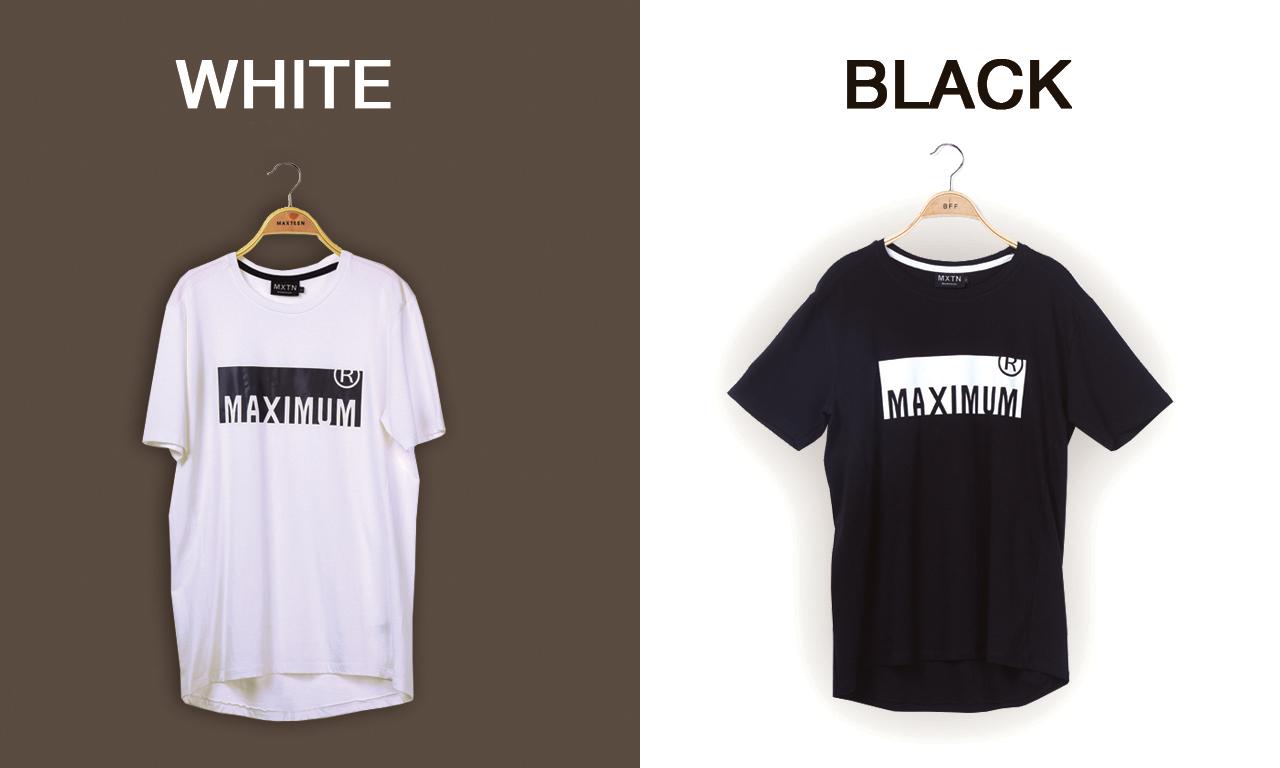 แบนเนอร์เสื้อยืดแบรนด์ MAXTEEN ซีรีย์ Maximum-R เป็นเสื้อผ้าแฟชั่นสำหรับบุรุษและสตรี