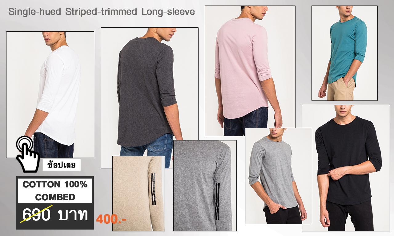 Single-hued-Half-sleeve-1